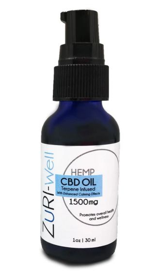 ZuRI™ CBD Wellness Drops + Terpenes