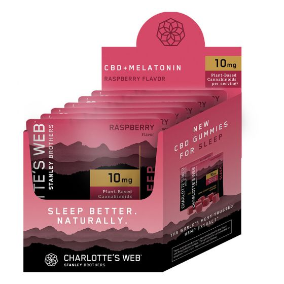 Charlotte's Web™ CBD Gummies 10mg, 6 Pouch Display
