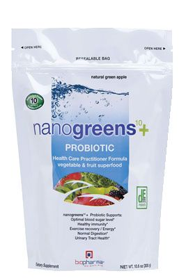 biopharma® nanogreens+Probiotic - Green Apple - 30Day