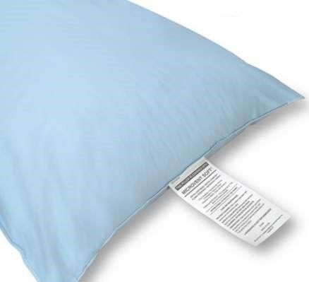 Standard Soft Sure-Chek Staph Check Pillow - Blue