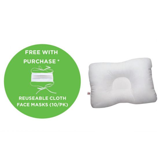 Buy 6 D-Core® Pillows Get Core Products® Layered Cloth Face Mask 10pk Free