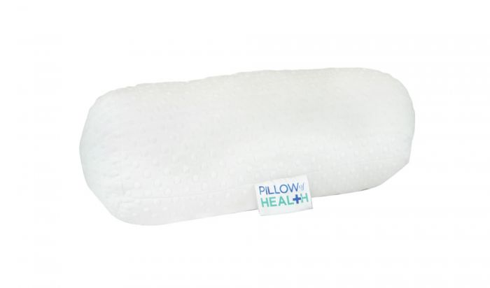 PILLOW of HEALTH® Fleece Bolster Pillow – White