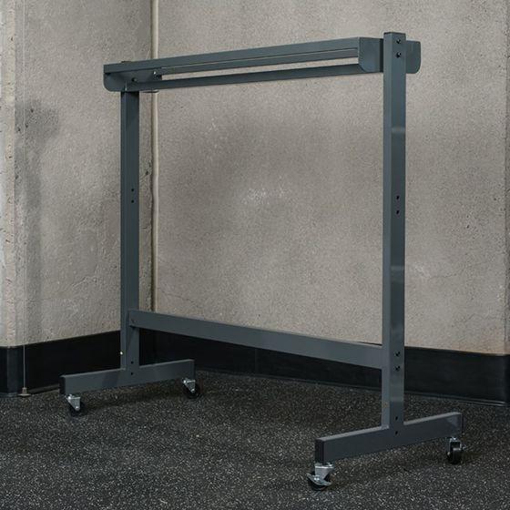Single Tier Free Standing Ball Rack for Plyoback Rebounders
