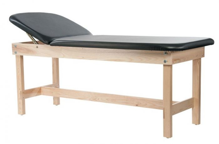 Edge Sport Series Lift Back Wood Treatment Table with H-Brace 31