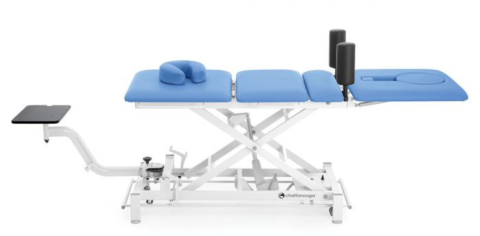 Galaxy® TTET400 Traction Table Package with Knee Bolsters