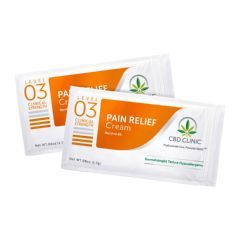 CBD CLINIC™ Clinical Strength Topical Analgesic Level 3 Ointment Samples 1.7g, 20 Packets