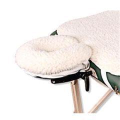 NRG Fleece Face Rest Pad Natural - Each