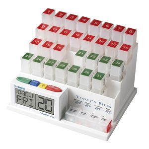 Medcenter Pill Minder With Alarm Clock