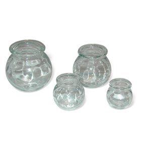 Glass Cupping Jars 4 Piece Set