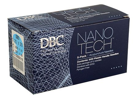 Nano Tech™ Bulk Five Acupuncture Needles .20 x 30 mm - Box of 500