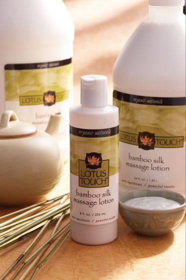 Lotus Touch Bamboo Silk Massage Lotion
