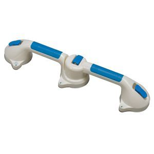 Mabis DMI Suction Cup Grab Bar with 180 Degree Swivel
