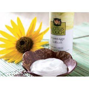 Lotus Touch Organic Naturals Massage Lotion