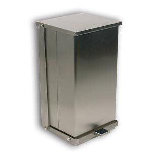 C-24 Detecto Stainless Steel Step-On Can