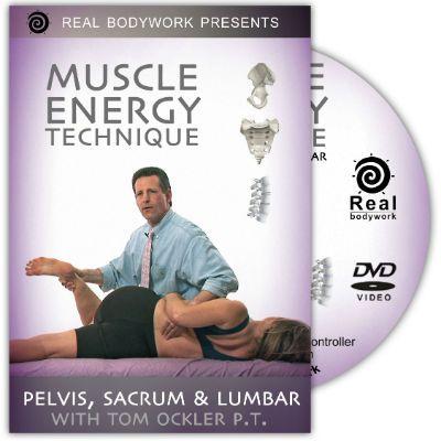 Pelvis,Sacrum & Lumbar Muscle Energy Tech Dvd