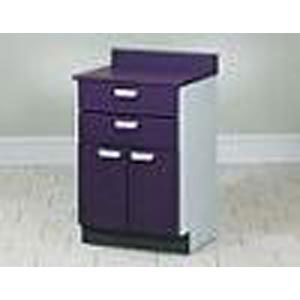 Mobile Treatment Cabinet W/ 2 Doors & 2 Drawers