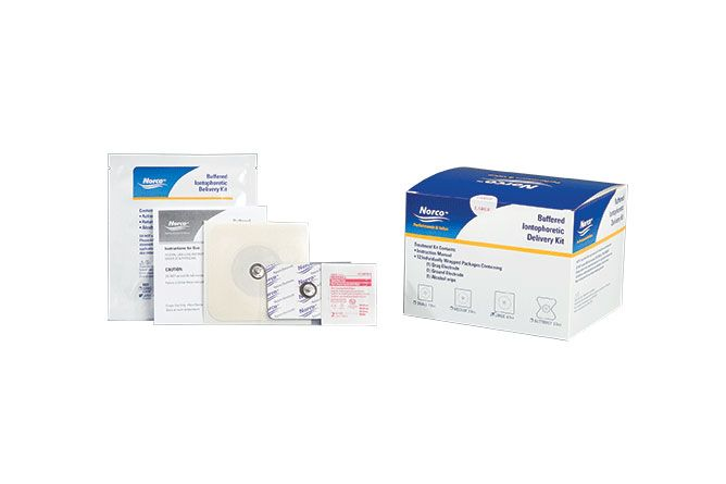 Norco™ Buffered Iontophoresis Delivery Kit