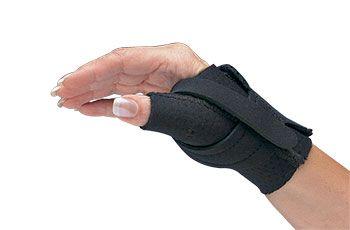 Comfort Cool® Thumb CMC Restriction Splints - Black