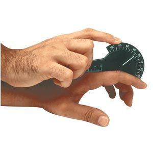Baseline Plastic Finger Goniometer -1 Finger Desig