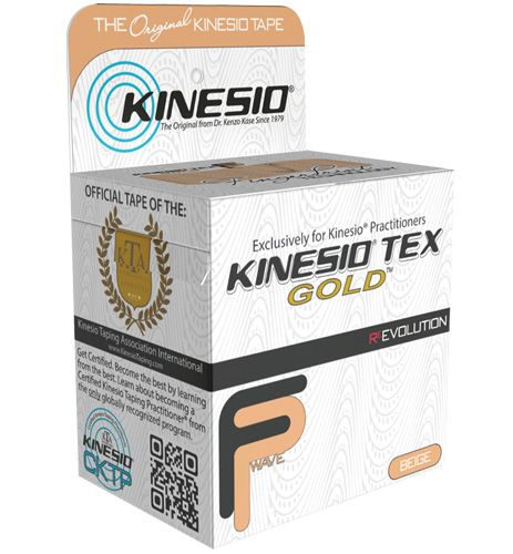 Kinesio Tex Tape, Water Repellent, 3