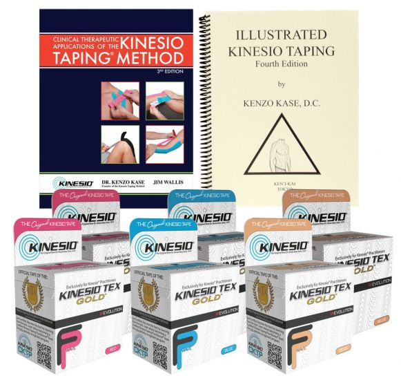 Kinesio Taping Starter Kit With Tex Gold FP Tapes