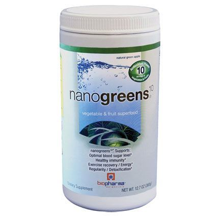 biopharma® nanogreens® Natural Green Apple - 12.7 Oz