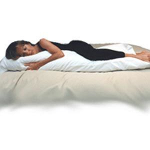 Body Pillow With Staphcheck Cover