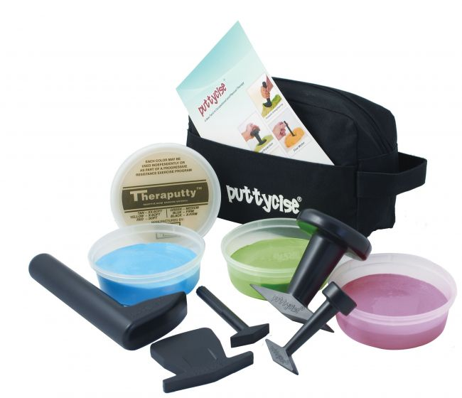 Puttycise Theraputty Set Easy, 5 Tools, 5 Lb (4)