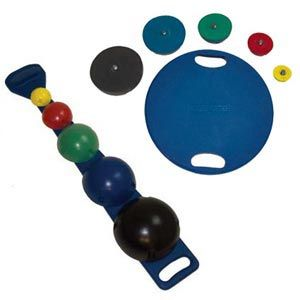 Maps Board With Balls, Rods, Weights, & Rack