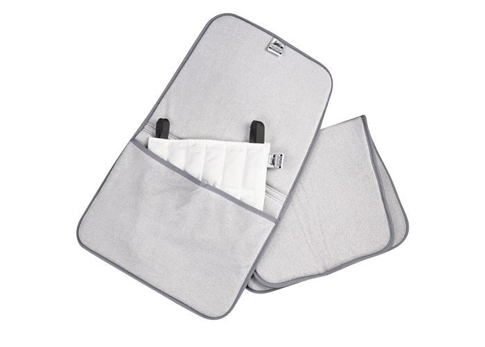 Oversized Terry Cover For Hotpack With Pockets