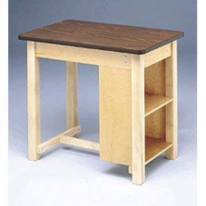 End Shelved Taping Table
