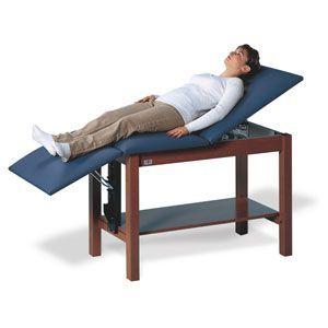 Hi-Line Trtmnt Table W/ H-Brace & Full Width Shelf