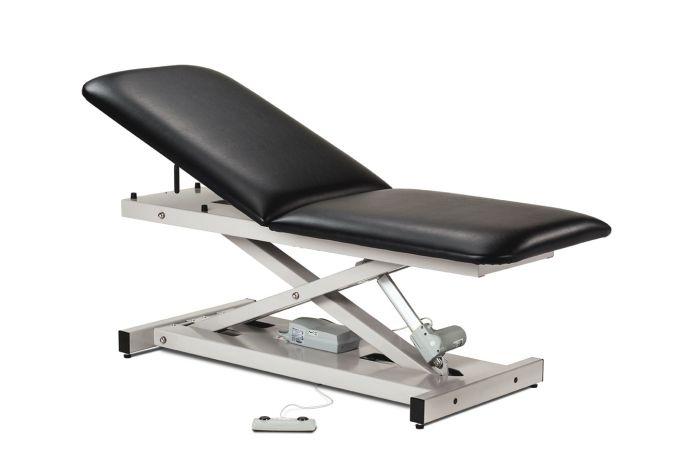 Open Base Power Table with Adj/Backrest