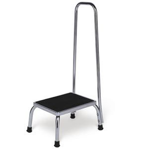 Galaxy Step Stool With Handrail