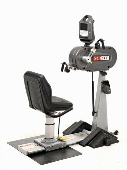 Scifit Pro Upper Bd: Adj Crnks Lw Bck Wheelch Pltf