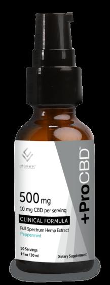 ProCBD™ Liquid Clinical Formula - Plus CBD Oil Drops