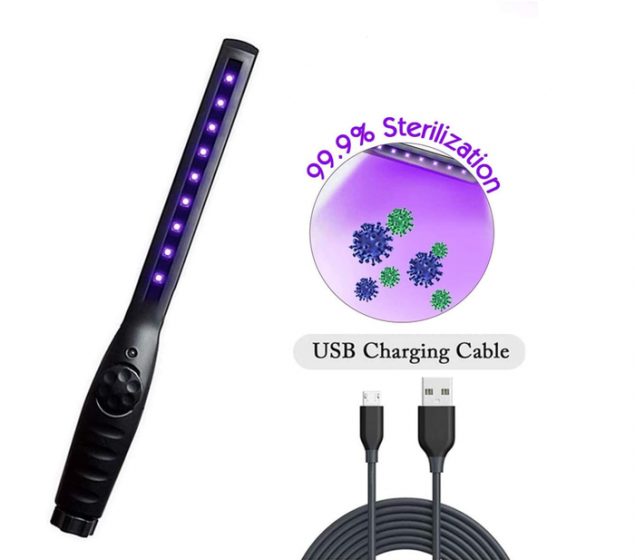 Portable UV Light Sterilizer