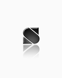 TIDI 3-Ply Tissue Patient Exam Gown - White