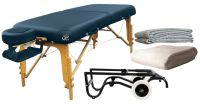 NRG® Luxury Vedalux Portable Massage Table Package