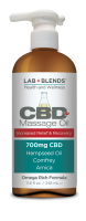 Lab+Blends™ 700mg CBD Massage Oil- 11.8 oz By BIOTONE®