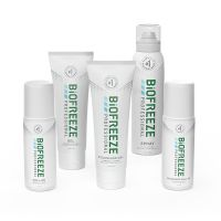 Biofreeze® Professional Buy 10 Colorless Tubes, 10 360° Sprays, 18 Colorless Roll-Ons, GET 10 Mix FREE