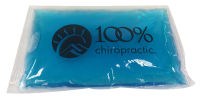 """100% Chiropractic 6"""" X 10"""" Ice Pack"""