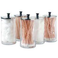 Glass Dispenser Jars Set Of 6 25Oz Each