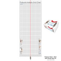 Kent Health Posture Analysis Grid Chart – Original with Plumb Bob Kit