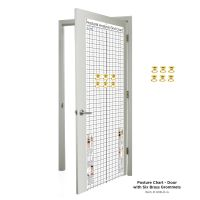 Kent Health Posture Analysis Grid Chart – Space Saver with Grommets