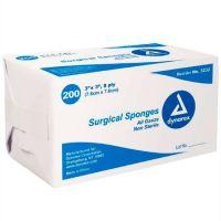 Dynarex Gauze Sponges, Non-Sterile 200Ct