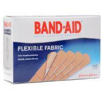 Adhesive Strip Band-Aid® 1 X 3 Inch Fabric Rectangle Tan Sterile