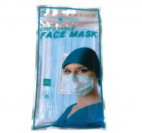Disposable 3 Ply Face Mask - Retail - Pack Of 10