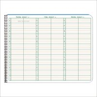 """2020 Appointment Books - 8.5"""" x 11"""" - 15 Minute Intervals"""