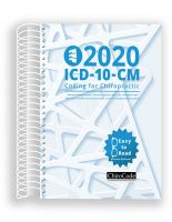ChiroCode Chiropractic ICD-10-CM Coding for 2020